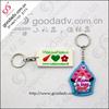 Custom keychain / soft pvc keychain wholesale / pvc keychain