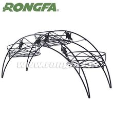 modern floor decoration indoor 3 tier wrought iron bicycle plant stand