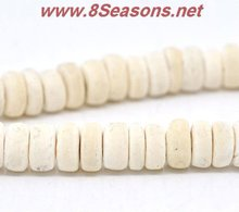 Nature Color Coconut Shell Loose Beads 8mm 40cm