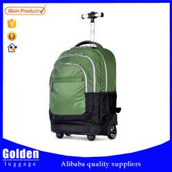 big capacity backpack luggage bag 16'' trolley backpack bag
