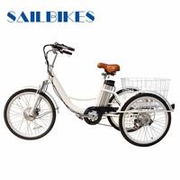 folding aluminum adult tricycle