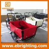 cargo delivery bike electric three wheel cargo bikes trailer