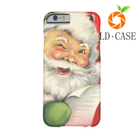 Best sell cheapest price promotional gift case christmas phone case for Iphone 6S