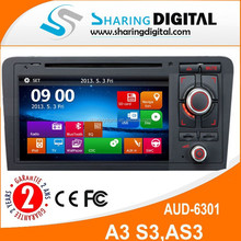 AUD-6301GD with gps navigation 2 din car dvd hd touch screen dvd car