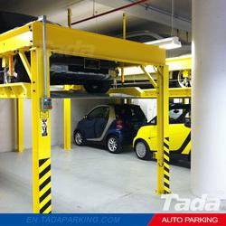 PJS Four Post Design car lifts / 2 car lift / cheap auto lifts