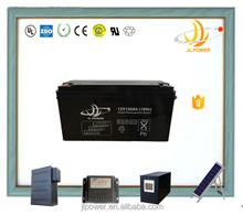 China manufacturer JL Brand 12v solar battey 12v 150ah deep cycle battery for solar and wind power storage