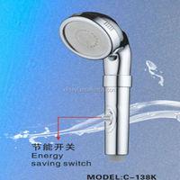C-138K ACS Cixi Qianyao PC wholesale bathroom using water saving flexible shower head extension