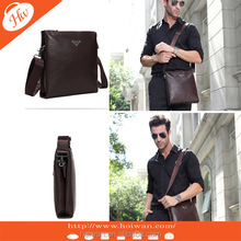 PMB2014011 COOL Men's New Fashion pu leather messanger bag cross body bag business bag briefcase for man