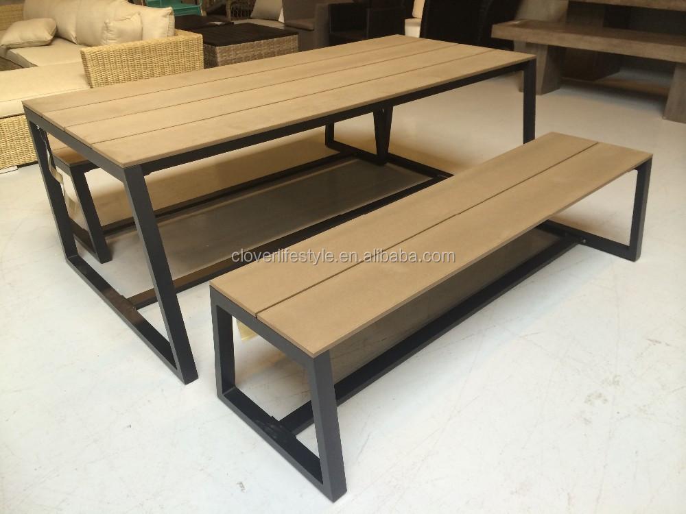 CK0369SET Poly Wood Outdoor Leisure Furniture Set
