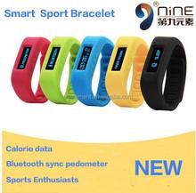 2015 new health assistant waterproof bracelet watch, bluetooth cicret smart bracelet