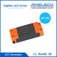 24V DC Input ZigBee WiFi Wireless Lighting Control CCT Dimmable LED Driver