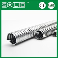 electrical corrugated galvanized metal conduit