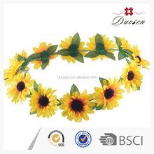 Charming Sunflower Indian Wedding Flower Garland In Stock