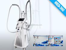 2015 the best professional vela shape roller, rf, vacuum body building equipment