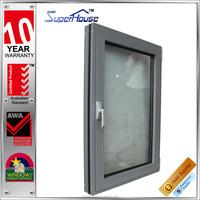 Australia standard as2047 aluminium tilt out window with tilt and turn window hardware
