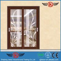 AW9140 JIEKAI patio sliding glass door / sliding shower glass door accessories / damper sliding door