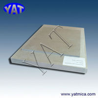 China Manufacturers thick thermal insulation muscovite mica board