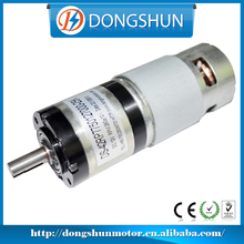 DS-42RP775 42mm diameter gearbox brushed high torque low rpm 12v dc planetary gear motor
