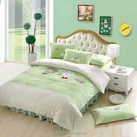 the number one newest warm fleece Printed Fleece Fabric BedSheets