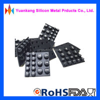 custom made in china silicon button soft silicon rubber buttons