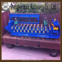 Glazed Sheet Metal Roofing Tile Rolls Forming Machine