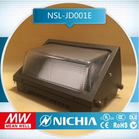 sample for free durable and firm PC Shade 5 years warranty aluminum 100w outdoor wall lighting