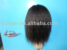 yaki style full hand made wig