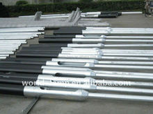 Factory Q235 Steel Pole Price Street Lighting Pole