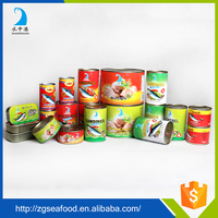 High quality Vegetable Oil delicious canned mackerel fish in tomato sauce