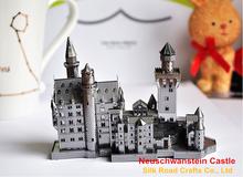 Neuschwanstein Castle puzzle jigsaw by stainless steel