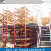 JT widely used warehouse storage steel attic rack