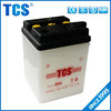 Most popular high quality motorcycle 6v 4ah lead battery
