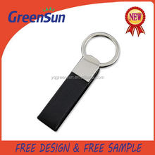 Top level useful metal leather lobster clasp keyring