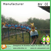 attractive cheap high quality Outdoor Kiddie Roller Coaster For Sale