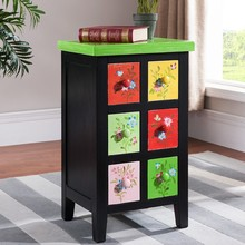 Jin Korean hand-painted wooden furniture six of ark Store content ark of classification Coloured drawing or pattern adornment ar