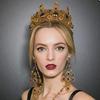 sexy vintage baroque headband jewelry, crown headband(SWTJU468)