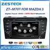 car audio for Mazda 3 car audio with vedio navigation media player 2004-2009 ZT-M701
