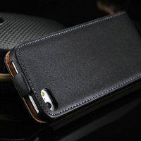 Fashionable custom made new design cell phone bag case for Iphone 5 5S with quality real leather vivid colors