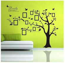 Tree Vinyl Art Stickers Picture Removable Large Wall Decal Family Home Decor