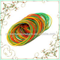 Natural Elastic Latex Rubber Band , Yellow Rubber Band , Veitnam Rubber Band
