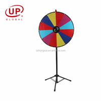 Floor standing round Prize wheel with tripod