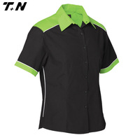 Sublimation motorcycle team racing shirts