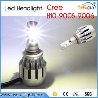 All-in-one design quick heat releasing H10 kit led c ree headlamp 20w 12/24V auto led headlight kit for toyota/vw for honda