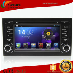 Pure android 4.4 Car DVD with Capacitive screen for Audi A4 S4 RS4 2002-2008