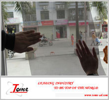 perforated self adhesive vinyl film /one way vision/glass one way vision