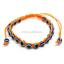 Party cheap Myserious fabric Bracelet wiht Evil Eye