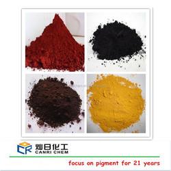red color bitumen/yellow oxide color asphalt /iron oxide pigment