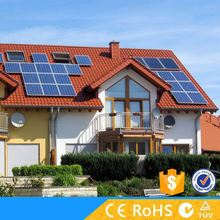Grid tied 10KW solar electric power generation for home use
