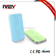 5000mAh Ultra Slim Power Bank External Mobile Battery Charger Pack for Cell Phones, Tablets