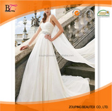 2015 dress new custom wedding dinner Chiffon dress wholesale the bride wedding dress